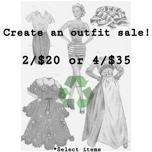 Other - 2/$20 or 4/$35 - Create an outfit sale!